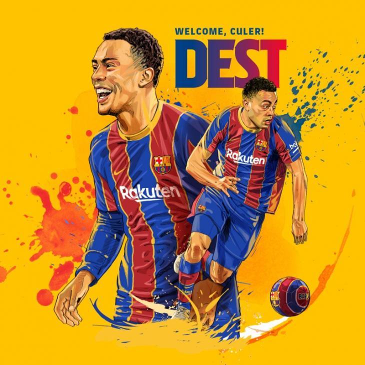 Официально: «Барселона» купила Деста
