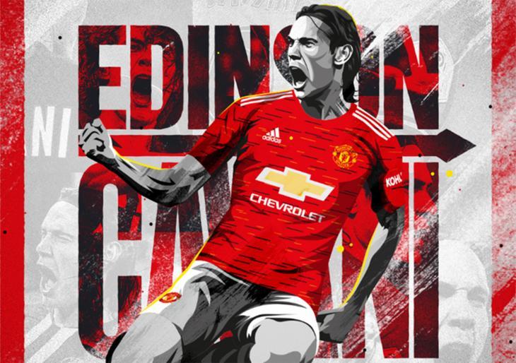 Официально: Кавани – игрок «Манчестер Юнайтед»